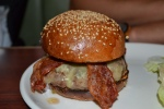 Lucky 7 Bacon Cheese Burger